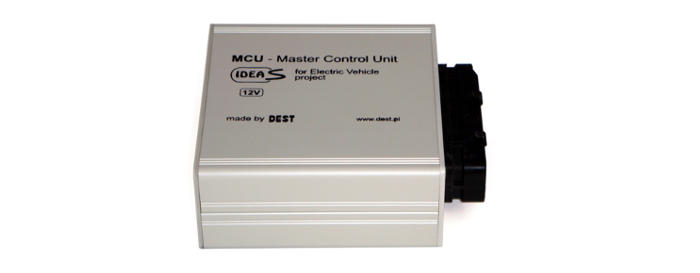 Prototype Master Control Unit device
